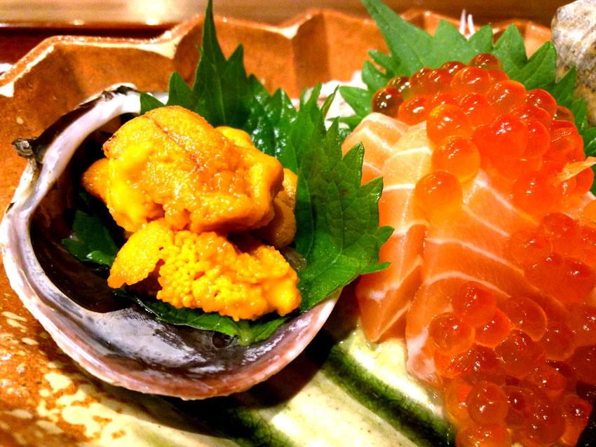Salmon & Sea Urchin