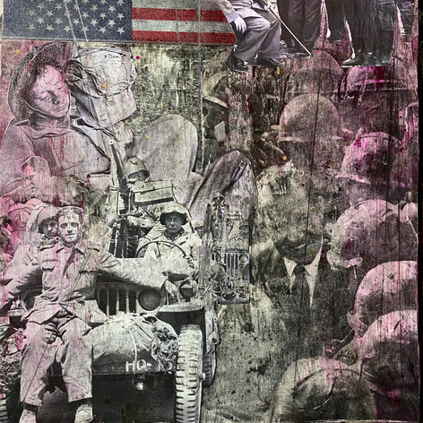 #36/11x14 inches/ 2020/collage