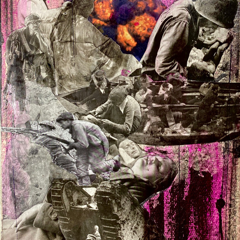 #31/11x14.5 inches/ 2020/collage
