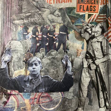 #37 / 11x14 inches/ 2020/collage