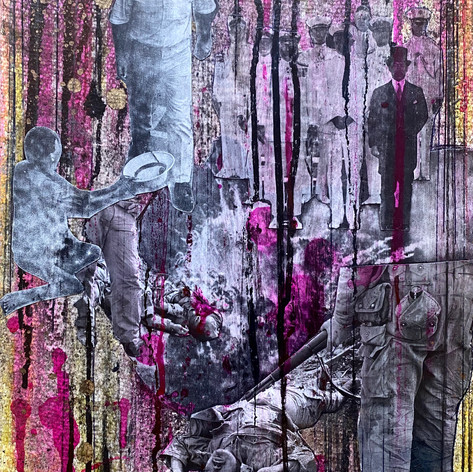 #15 / 11x14.5 inches/ 2020/collage