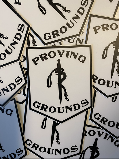 Proving Grounds stickers
