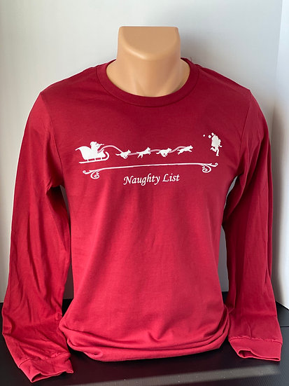 Duc Exercitum Naughty List Long-Sleeve Shirt
