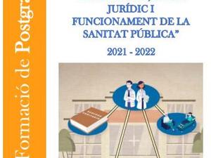 Matricula't al nou postgrau d'estructura, règim jurídic i funcionament de la sanitat pública