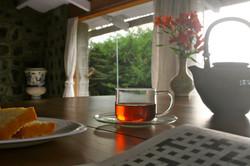 Tea in the lounge