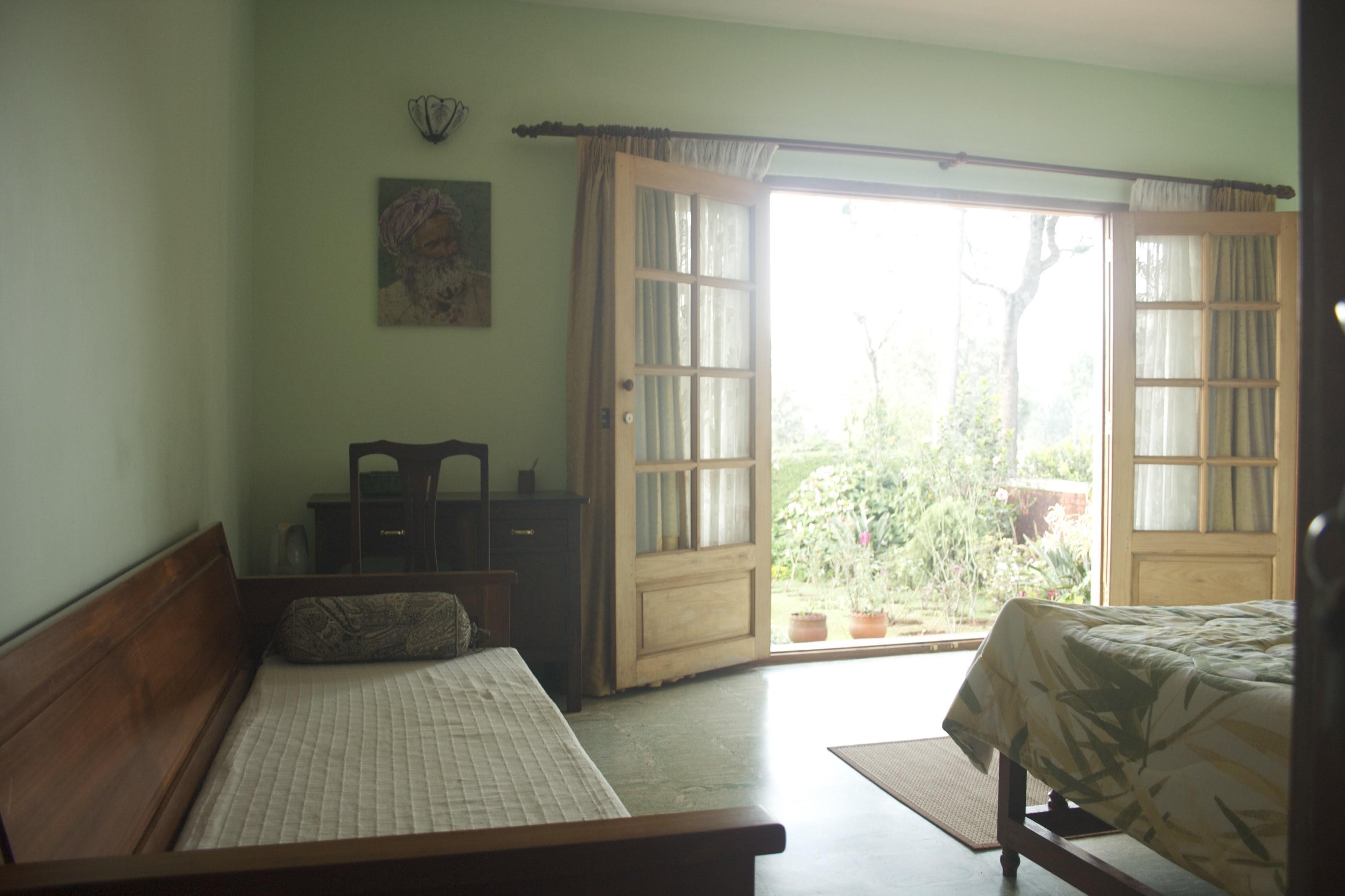 guestroom side view