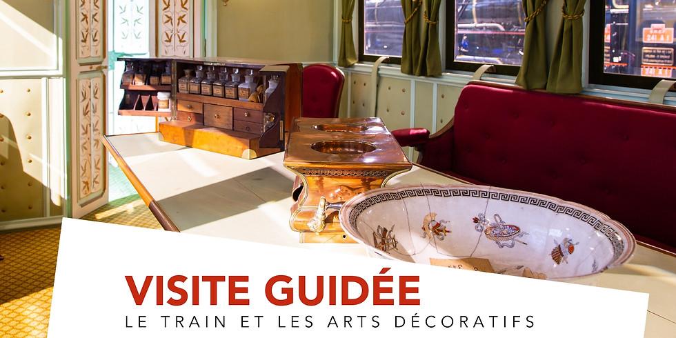 Visite guidée thématique | Le train et les arts décoratifs
