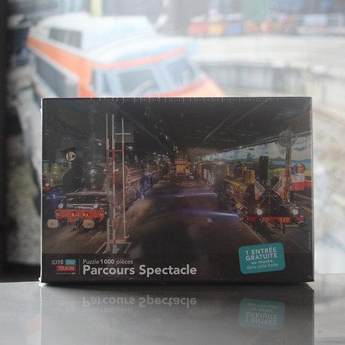 Puzzle 1000 pièces - Cité du Train