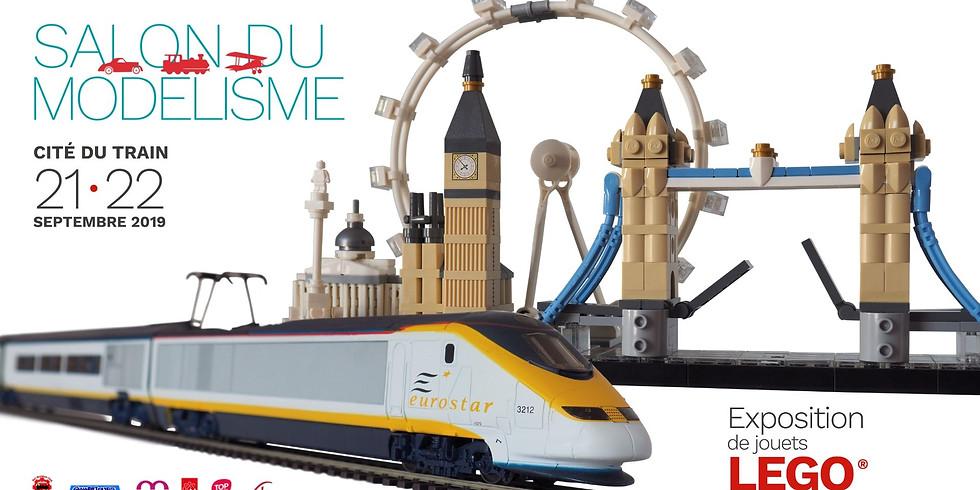 Salon du modélisme - Expo de jouets Lego®
