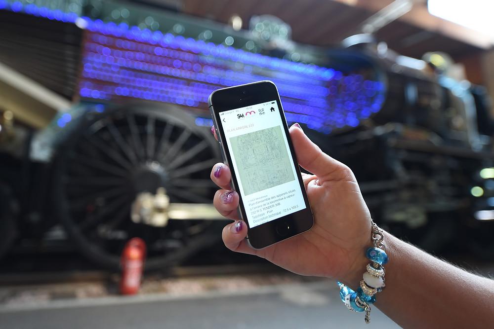 Application SAM Cité du Train