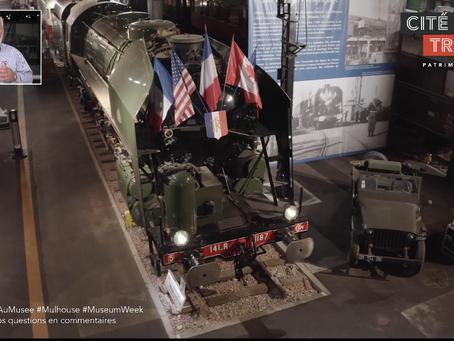#UneNuitAuMusée | Facebook Live depuis la Cité du Train #Mulhouse