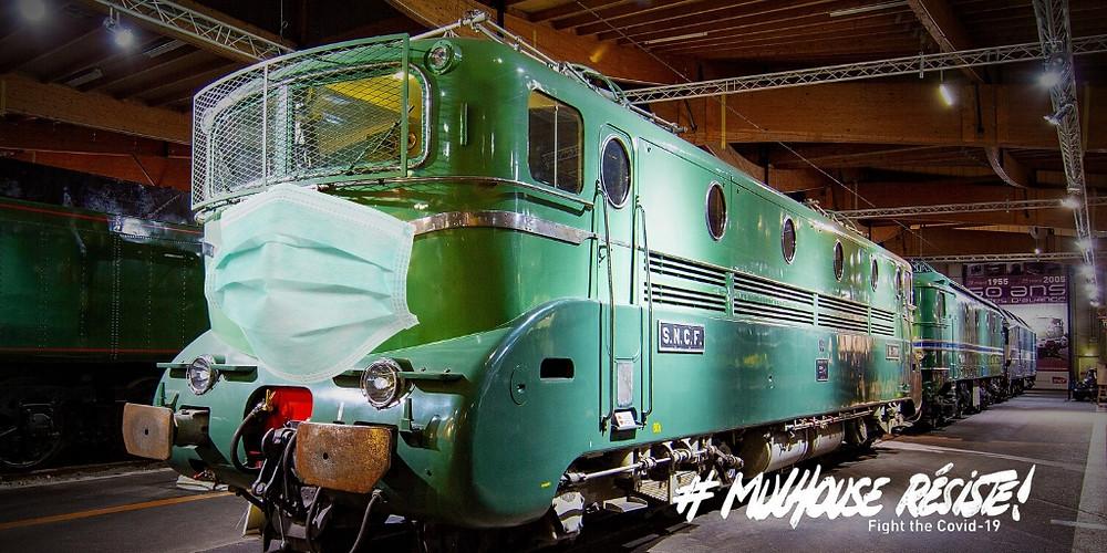 COVID Mulhouse Cité du Train