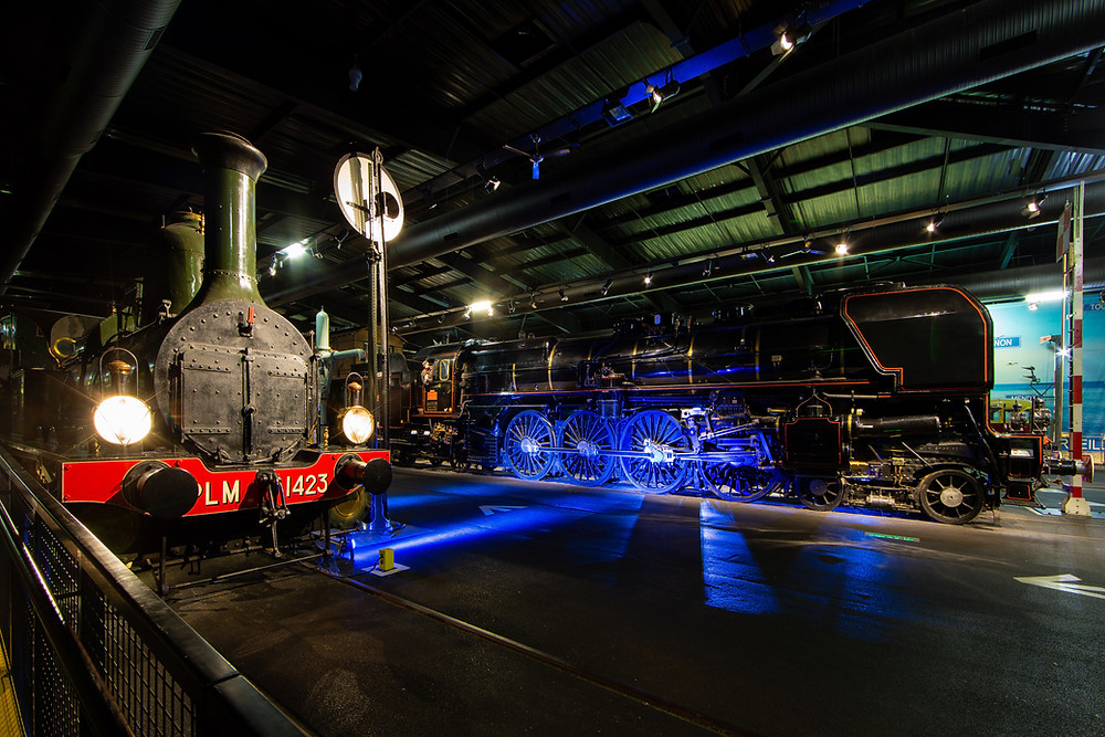 Cité du Train, musée du patrimoine SNCF, Mulhouse, Alsace, Parcours Spectacle