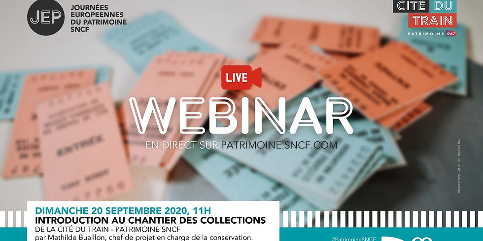 #Webinar | Introduction au chantier des collections