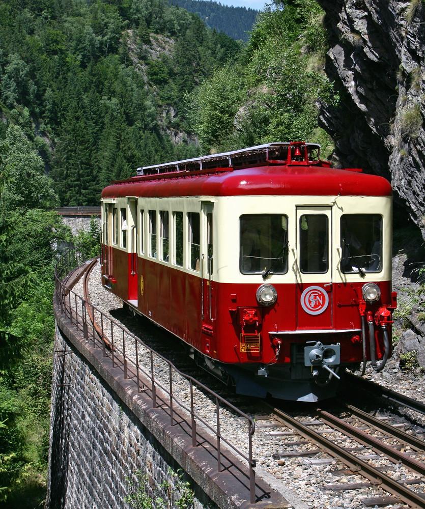 automotrice z 604, mont blanc, 2008, cité du train,