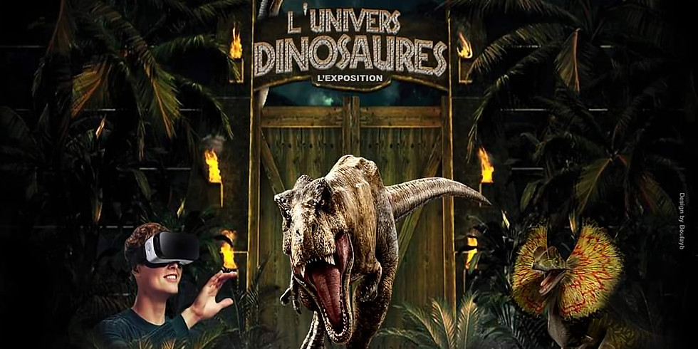 [ANNULÉ] L'univers des dinosaures - Exposition
