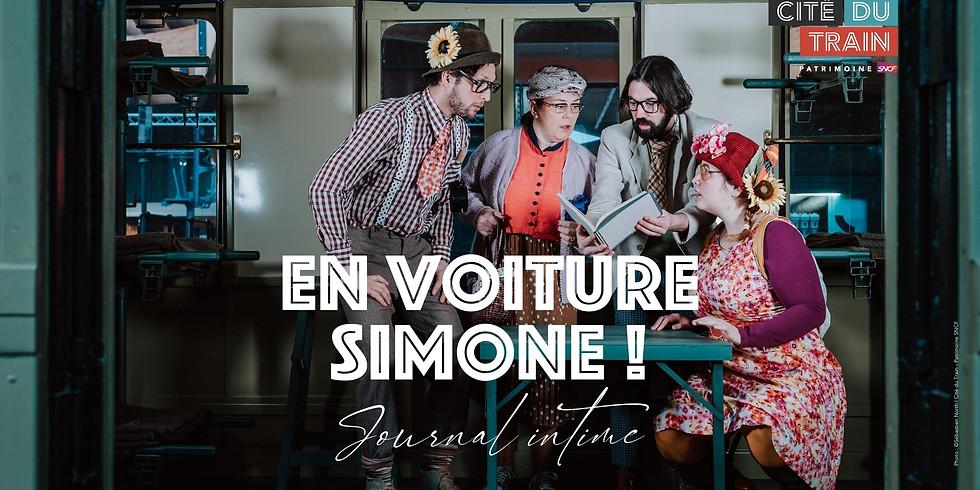 En voiture Simone ! - Journal intime