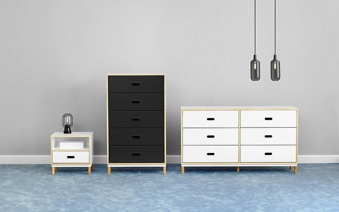 NORMANN COPENHAGEN Kabino dresser with 6 drawers