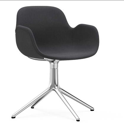 NORMANN COPENHAGEN Form Swivel Armchair Full Upholstery