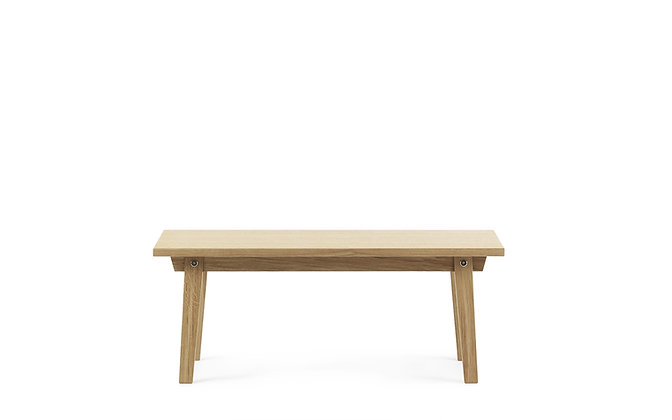 NORMANN COPENHAGEN Slice Coffee Table Vol. 2 42 x 100 cm Oak