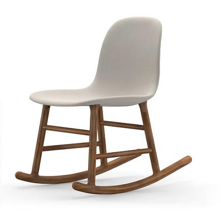 NORMANN COPENHAGEN Form Rocking Chair Full Upholstery