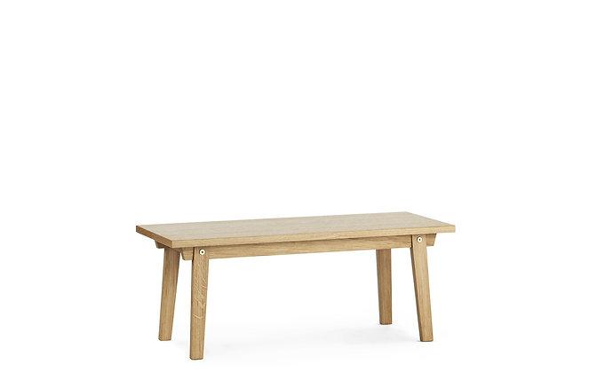 NORMANN COPENHAGEN Slice Coffee Table Vol. 2 42 x 100 cm Oak