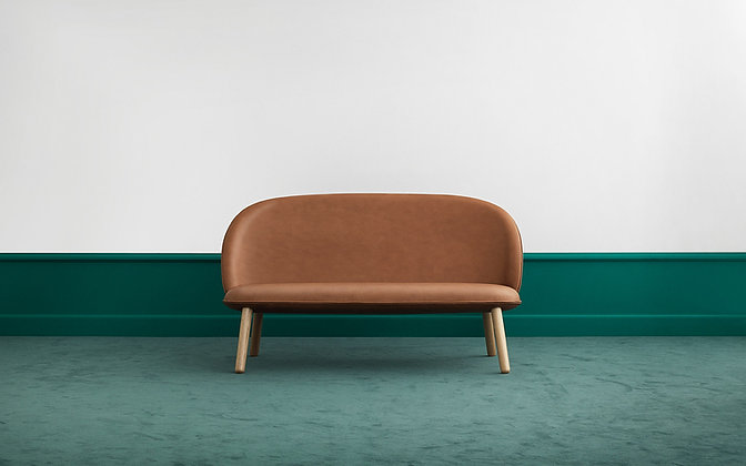 NORMANN COPENHAGEN Ace Sofa Oak Ultra Leather