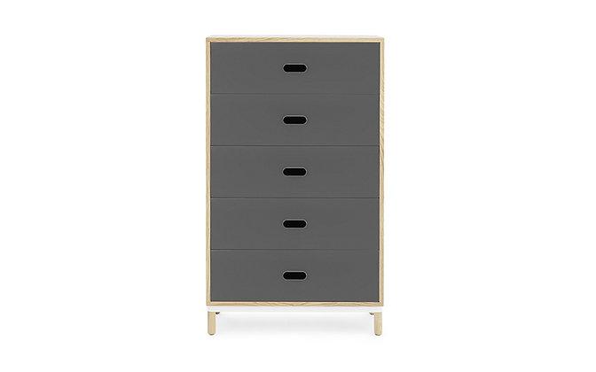 NORMANN COPENHAGEN Kabino dresser with 5 drawers