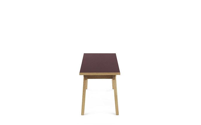 NORMANN COPENHAGEN Slice Bench 38 x 160 cm Linoleum