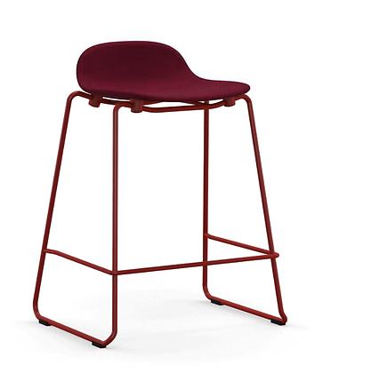 NORMANN COPENHAGEN Form Stacking Barstool Full Upholstery