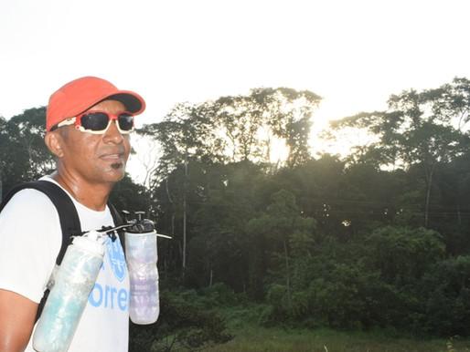 Superação: Poeta da Amazônia retornou seus treinos após uma lesão no tornozelo.
