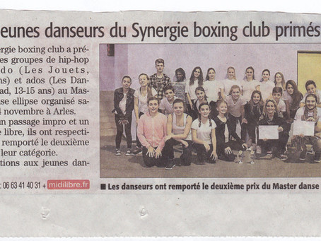 """Concours """"Master Dance"""" à Fourques 2015"""