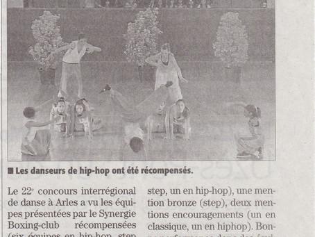 Concours interrégional de danse en Arles 2012
