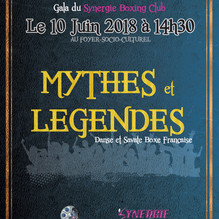 """Gala 2018 le 10 Juin 2018 à 14h30 - """"Mythes et Légendes"""""""