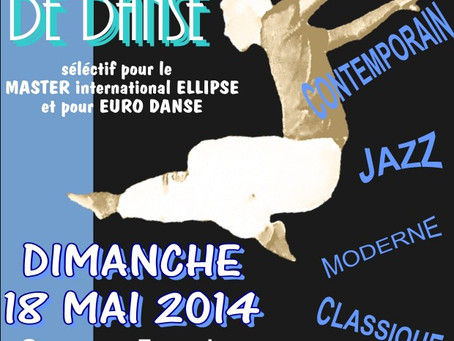 Concours international de danse en Arles 2014