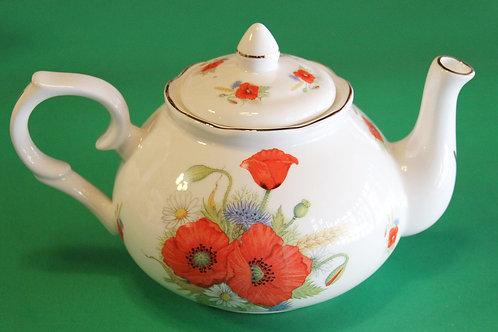 Poppy Amber Teapot