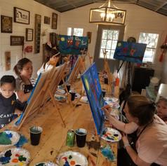 Mommy & Me Paint Class