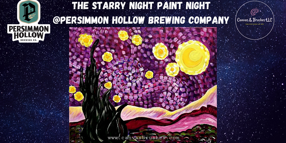 The Starry Night Paint & Sip @Persimmon Hollow Brewing Company