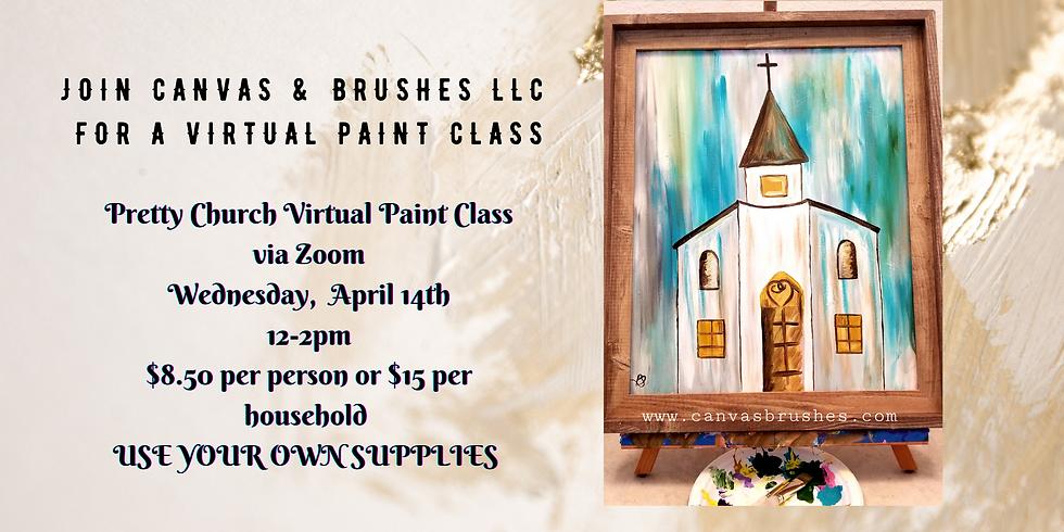 Pretty Church Virtual Paint Class