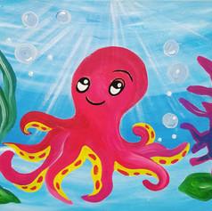The Happy Octopus
