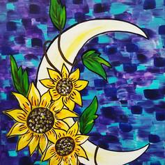 Sunflowery Moon