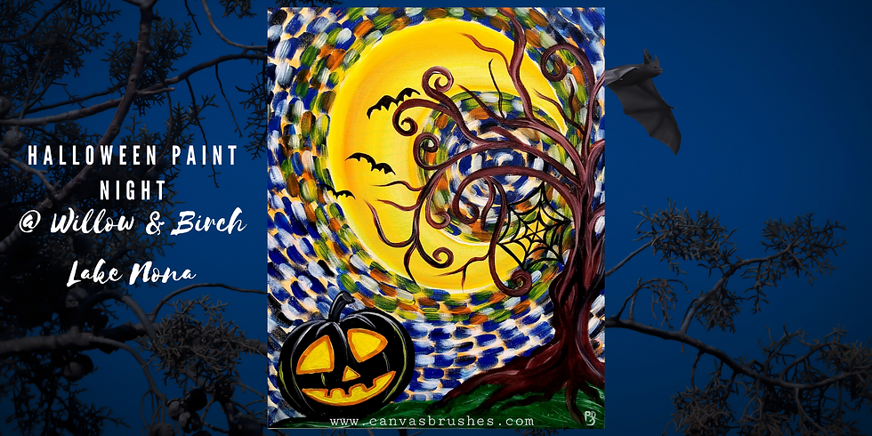 Halloween Family & Friends Paint Night