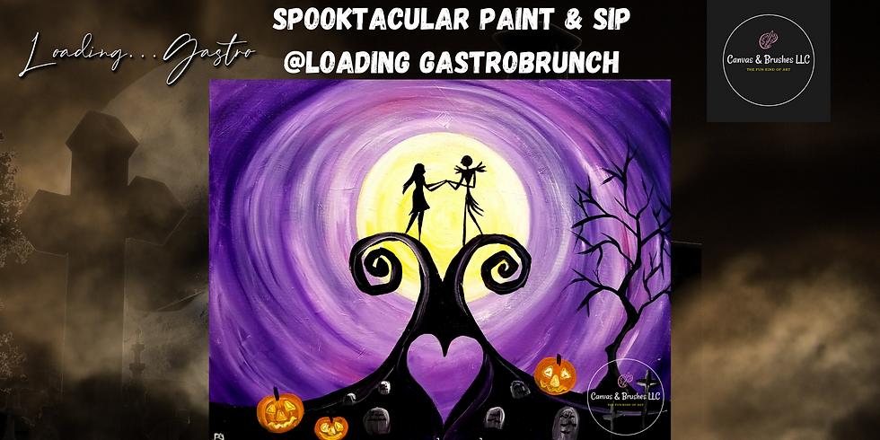 Spooktacular Paint & Sip @Loading Gastrobrunch