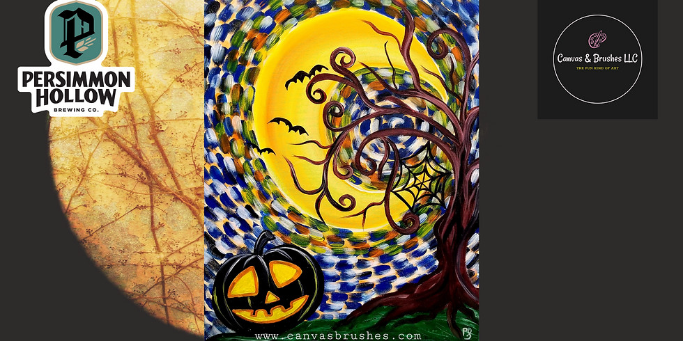 SPOOKY Paint & Sip @Persimmon Hollow Brewing Co.