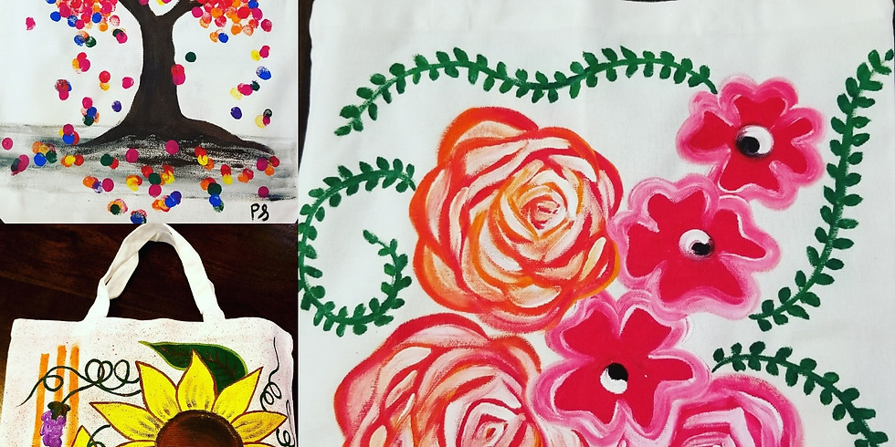 Paint Your Own Tote Bag