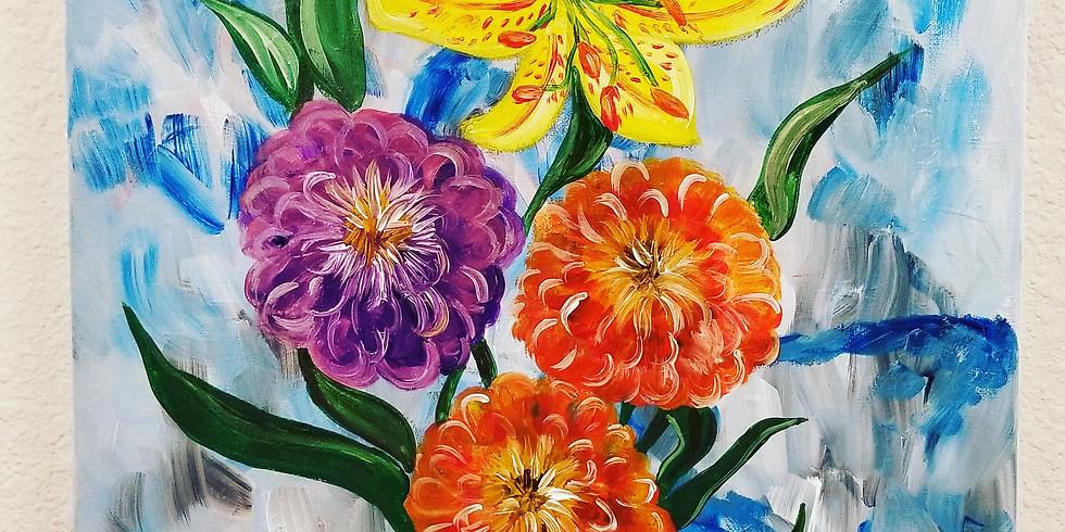 Feeling Floral Virtual Paint Class