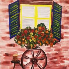 The Flowery Window