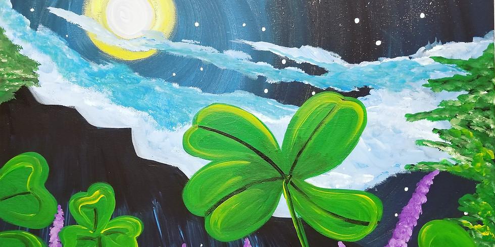 St. Patrick's Day Paint Night