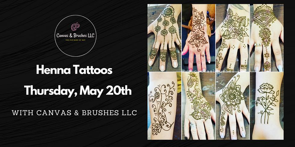 Henna Tattoos @The Thursday Night Market