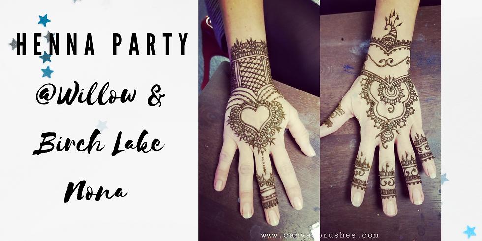 Henna Party @Willow & Birch Lake Nona
